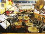 Drumkit in Hat Yai, Thailand.